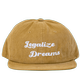 Legalize Dreams Corduroy Hat Khaki - View 1