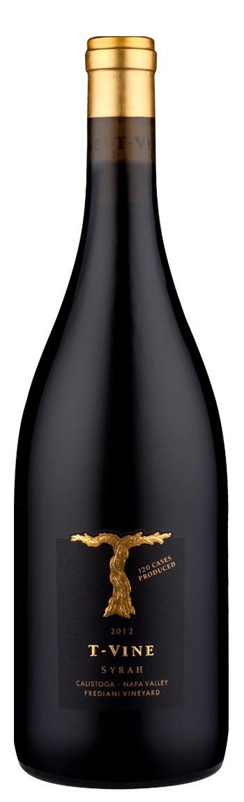 2012 Calistoga Syrah, Frediani Vineyard