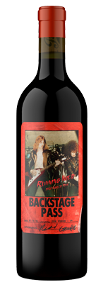 Backstage Pass, Napa Valley, Red Wine