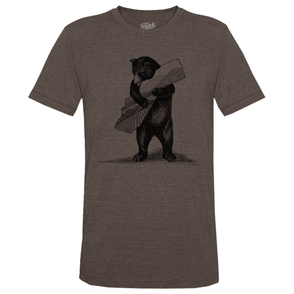 Bear T-Shirt Brown