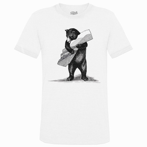 Bear T-Shirt White Image