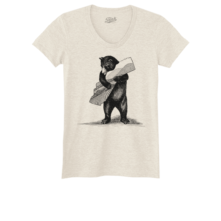 Bear Women's T-Shirt Oatmeal