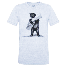 Bear T-Shirt Gray