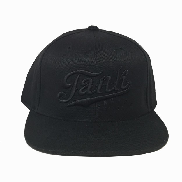 Flatbill Hat Black