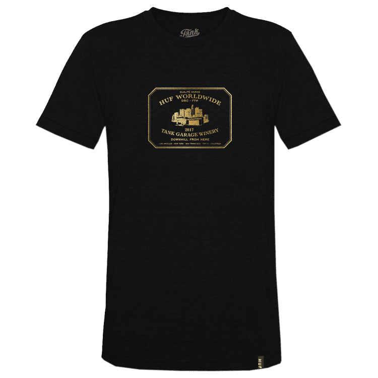 HUF Downhill From Here T-Shirt Black