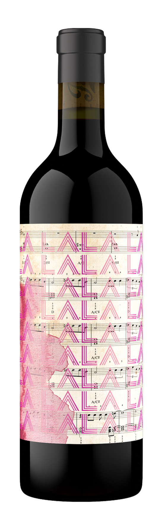 2017 I Say LA LALA LA LA, Red Wine, Napa Valley