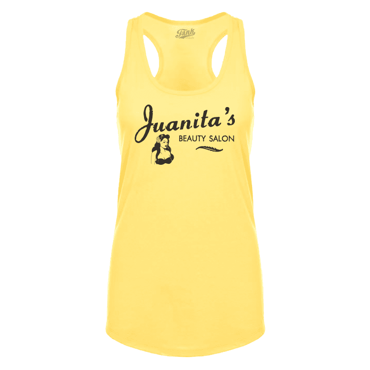 Juanita's Beauty Salon Women's Tank Image