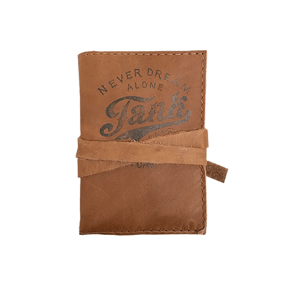 Leather Mini-Journal Brown
