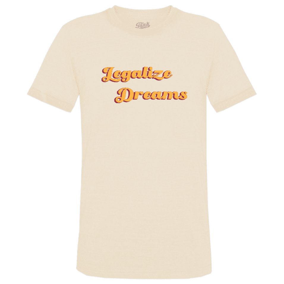 Legalize Dreams Organic T-Shirt Natural
