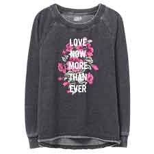 Love Now More Than Ever Women's Sweatshirt