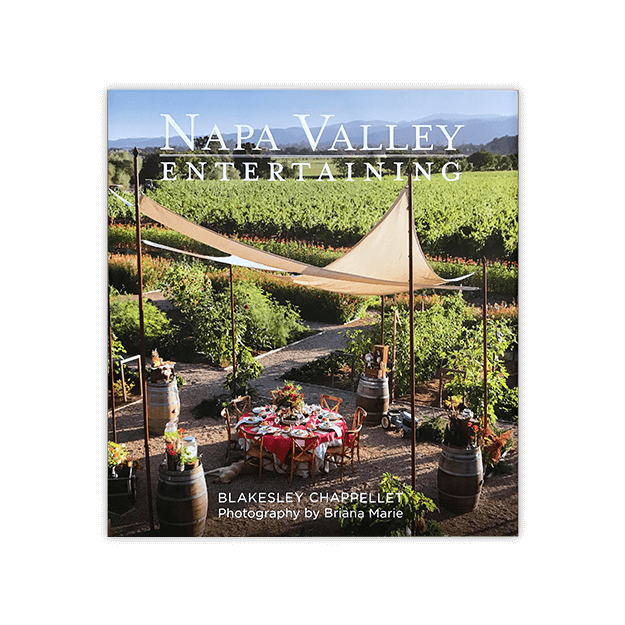 Napa Valley Entertaining Book Image