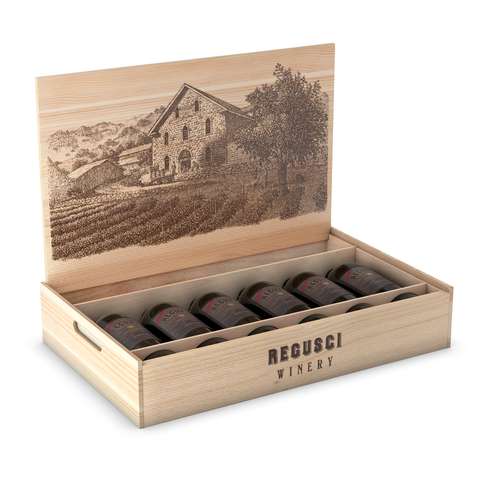Wooden Box (6-Bottle) Image