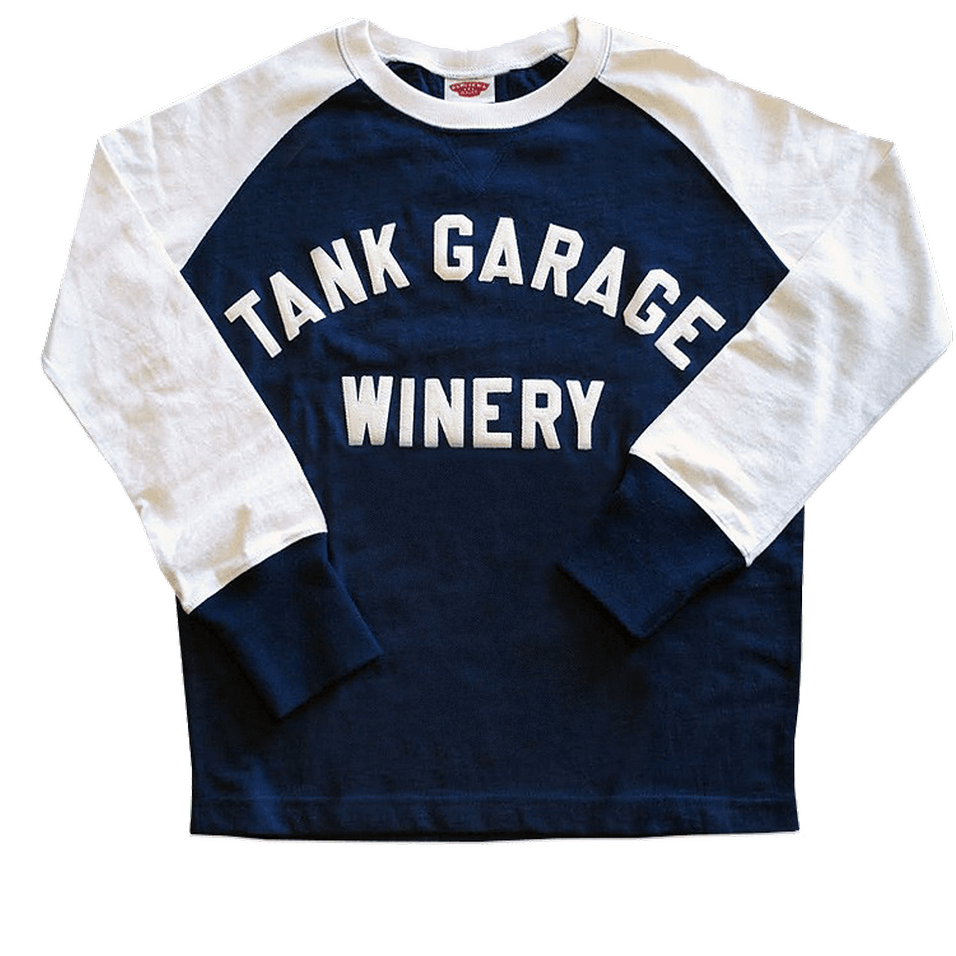 Racing Jersey Raglan Blue