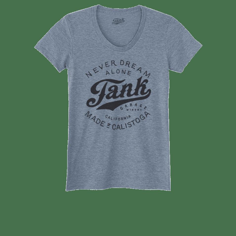 Tank Logo Women's T-Shirt Gray