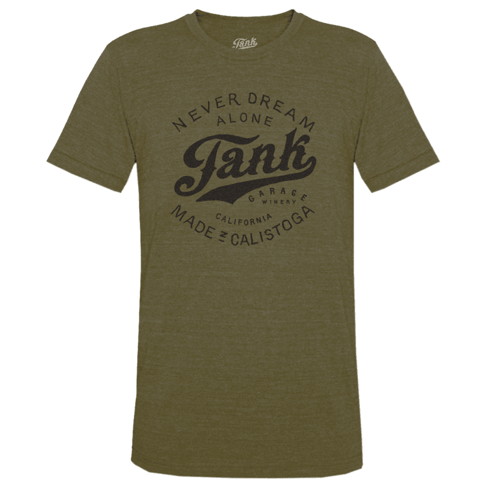 Tank Logo T-Shirt Guerrilla Green