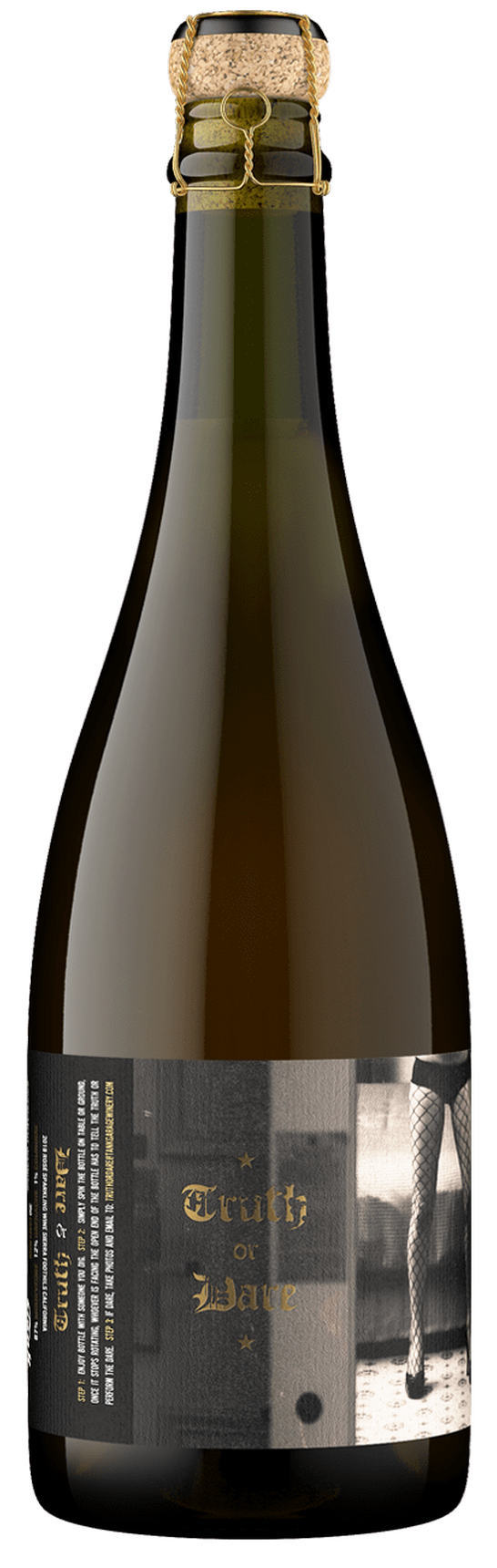 2018 Truth or Dare, Rosé Sparkling Wine, Sierra Foothills