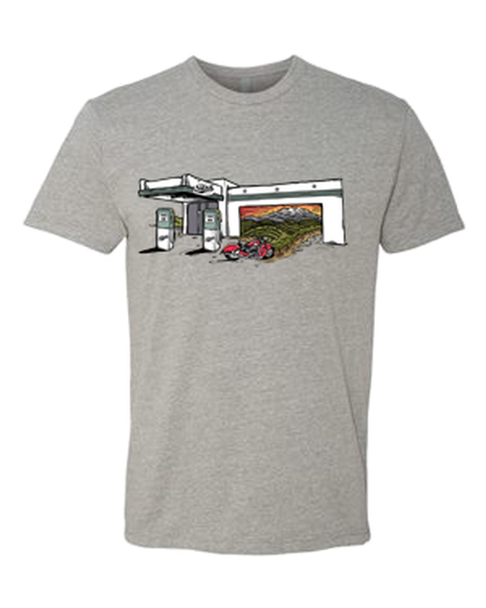 Tank X Wild Tribute T-Shirt Heather Grey
