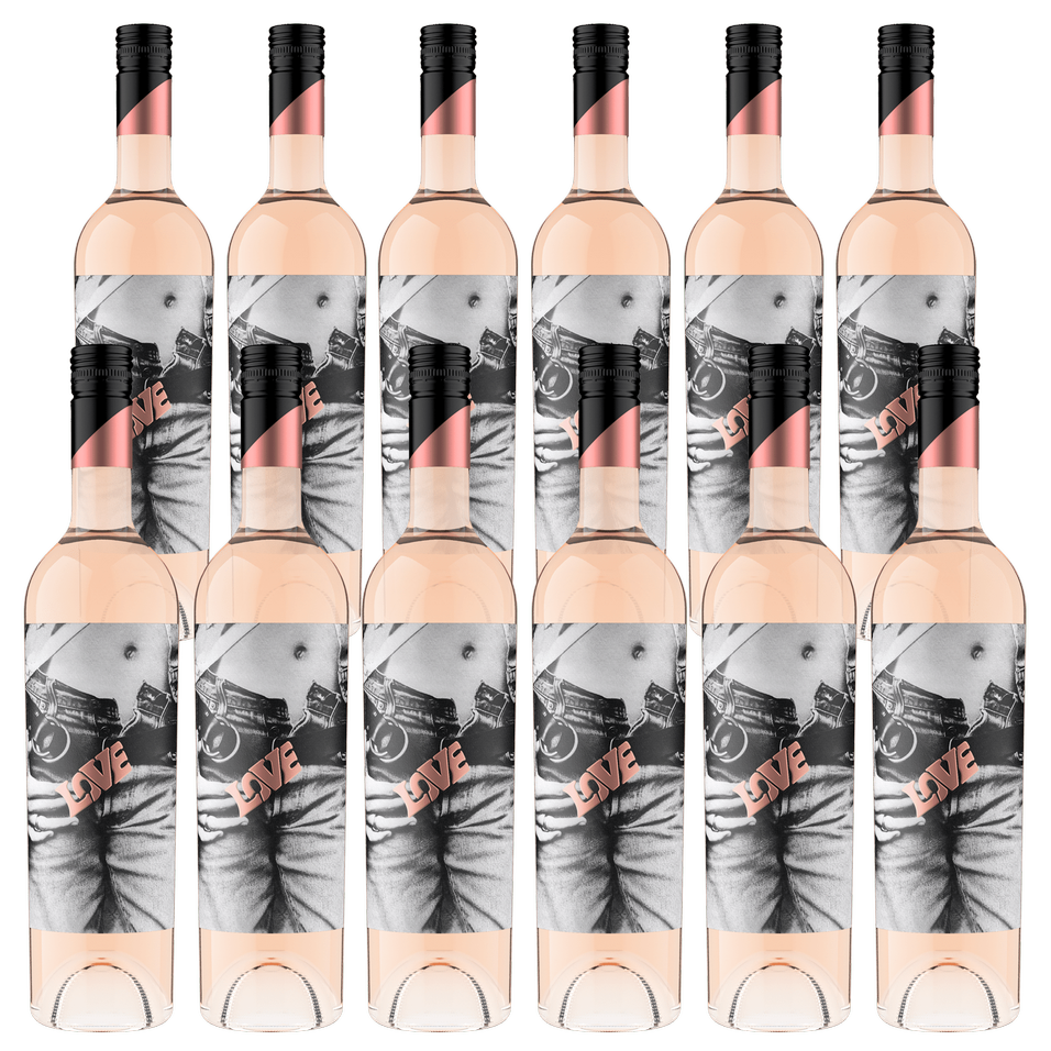 2019 Wasted Love Rosé Case