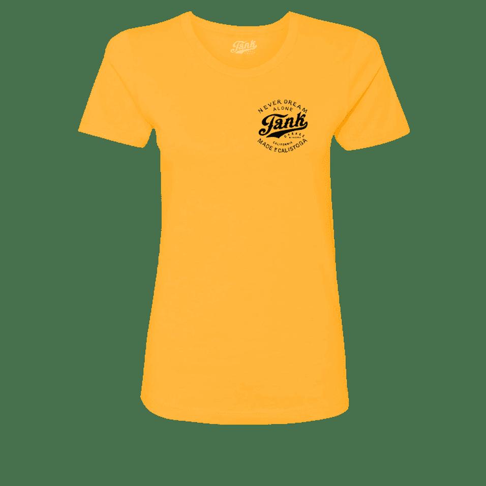 Tank Left Chest Organic Women's T-Shirt Gold