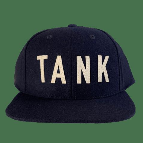 Wool Throwback Hat Navy