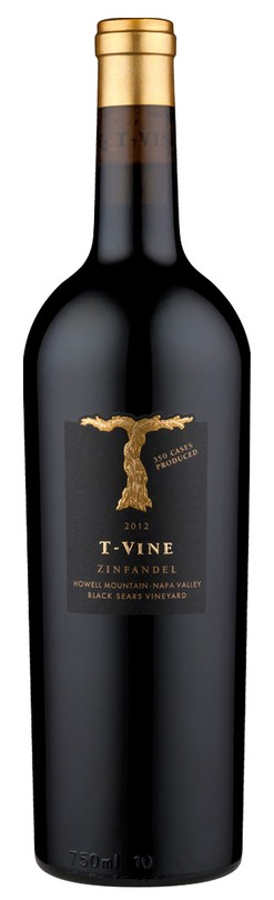 2012 Howell Mountain Zinfandel, Black Sears Vineyard