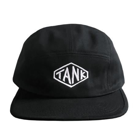 Hexagon 5-Panel Hat Black