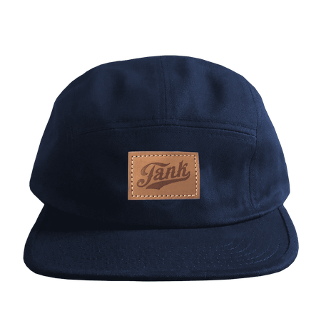 Patch 5-Panel Hat Navy