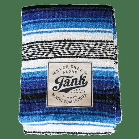 Baja Blanket Blue + Turquoise