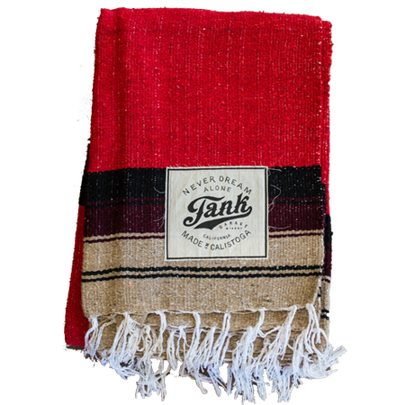 Baja Blanket Red