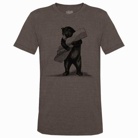 Bear T-Shirt Brown