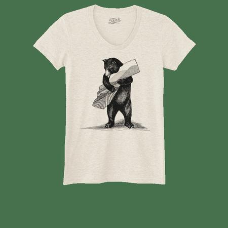 Bear Women's T-Shirt Oatmeal
