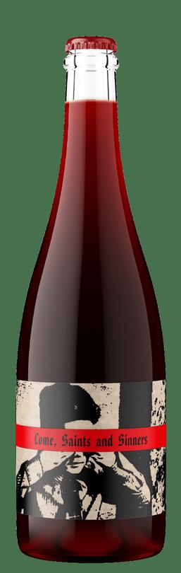 2019 Come, Saints and Sinners, Carbonic Pét-Nat Sparkling Petite Sirah, Rorick Heritage Vineyard
