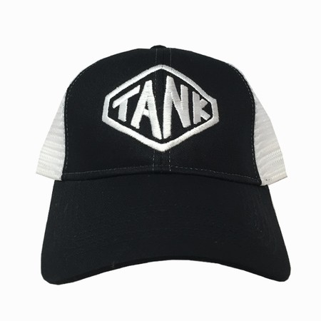 Hexagon Trucker Hat White/Black