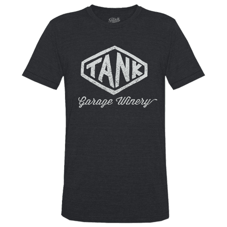 Hexagon T-Shirt Charcoal