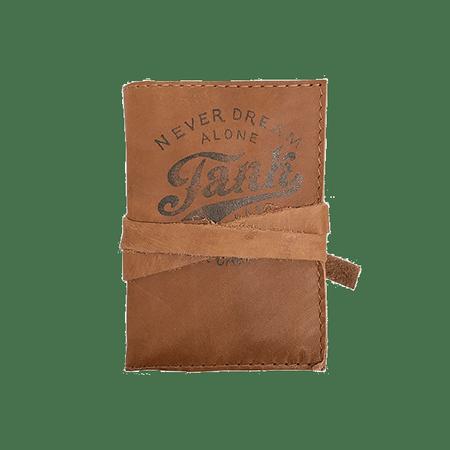 Leather Mini-Journal Brown