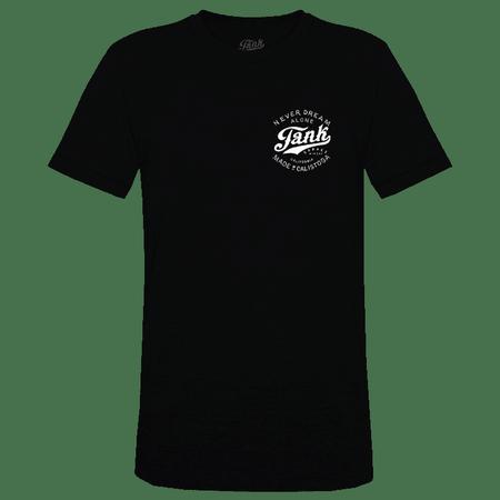 Tank Left Chest Organic T-Shirt Black