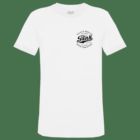 Tank Left Chest Organic T-Shirt White