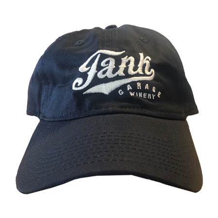Unstructured Logo Hat Navy