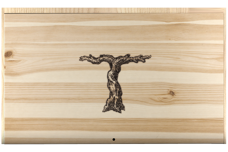 Wooden 6-Bottle Box Image