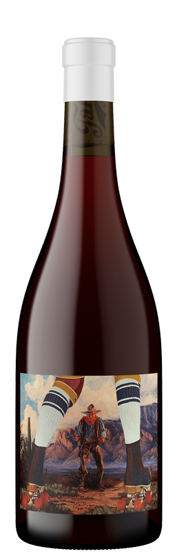 2020 Once Upon a Time in Mendocino, Carbonic Pinotage, Mendocino County, Open Hand Ranch