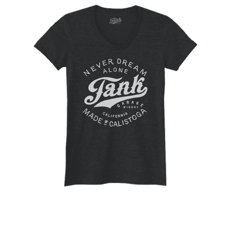 Tank Logo Women's T-Shirt Charcoal