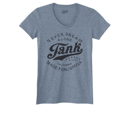 Tank Logo Women's T-Shirt Gray