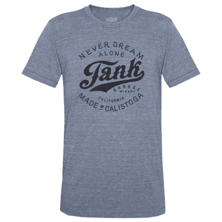 Tank Logo T-Shirt Gray