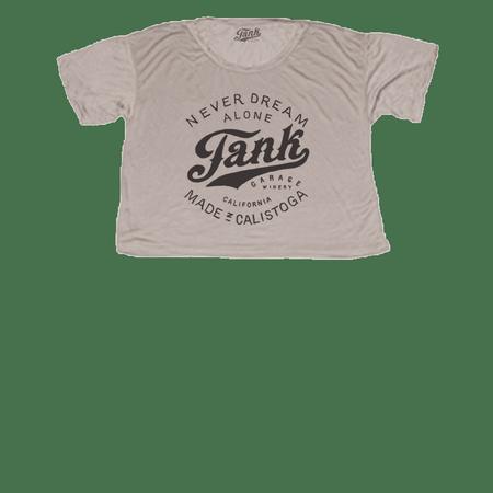 Tank Logo Women's Crop T-Shirt Champagne