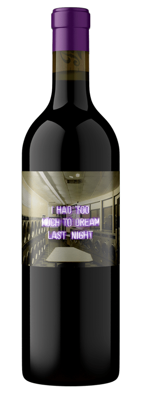 Too Much To Dream, Red Wine, Napa Valley Image