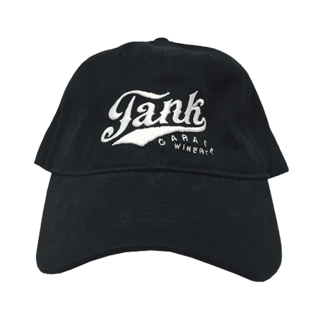 Unstructured Logo Hat Black