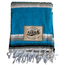 Baja Blanket Light Blue