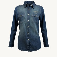 Denim Shirt Women's Dark